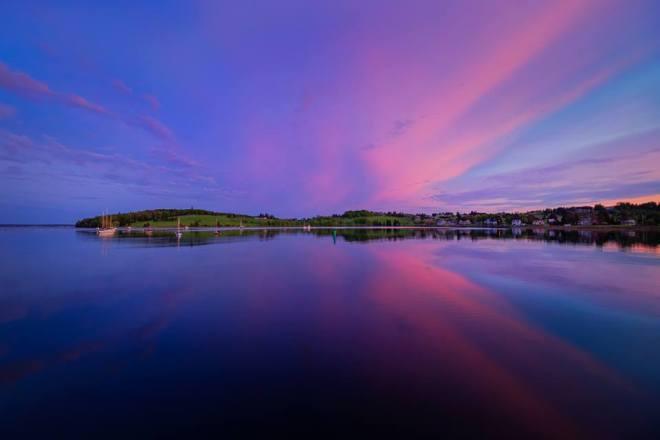 Lunenburg Sunset by James Goode Travel Photographer