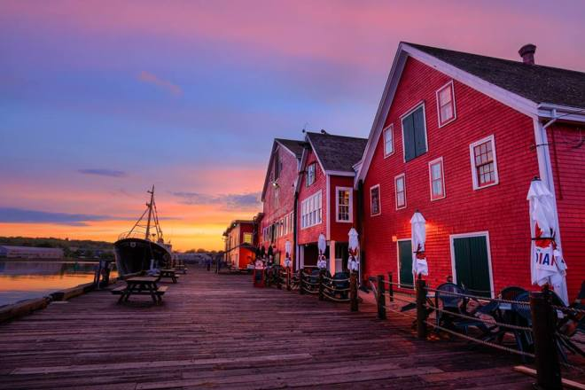 The Old Fish Factory & Museum in Lunenburg by James Goode, Travel Photographer