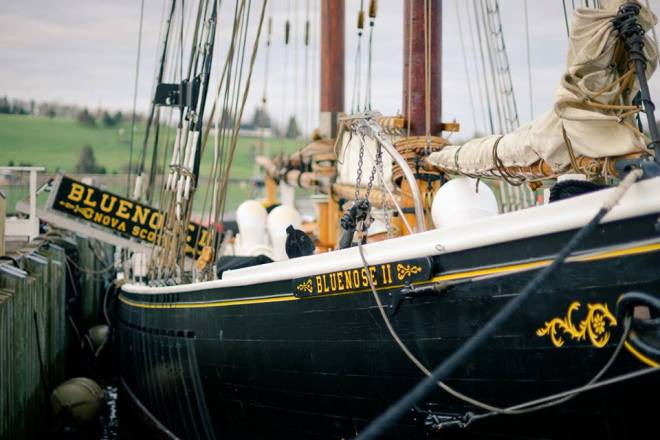 Bluenose II by James Goode Travel Photographer
