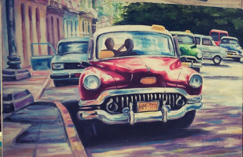 Antique Cars… Cuban Style
