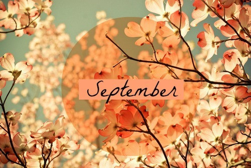 It's September and the END of one season and START of another!